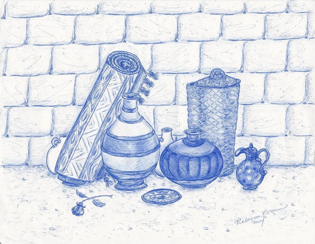 Clay Pots Artist: Rebecca Brown